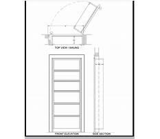 Hidden door bookshelf plans free Video