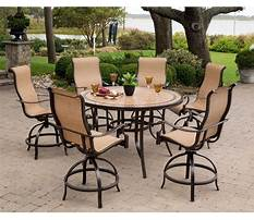 High top patio furniture sets Video