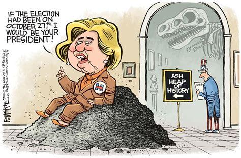 Hillary Political Cartoons