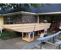 Homemade flat bottom boat plans Video
