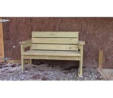 Homemade outdoor benches.aspx Video
