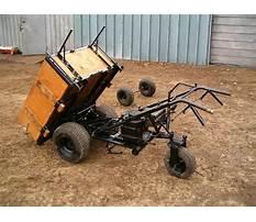 Homemade power wheelbarrow Video
