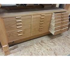 Homemade workshop drawers Video