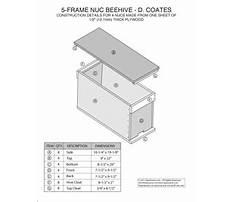 Honey bee nuc plans Video