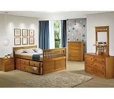 Honey oak bedroom dresser with mirror Video
