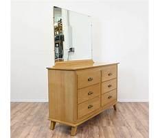 Honey oak dresser with mirror Video
