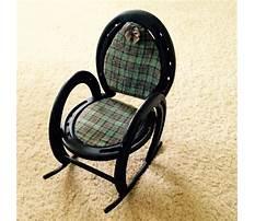 Horseshoe rocking chair Video