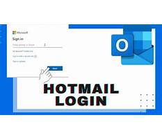 Hotmail sign in Video