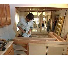 How do you make your own kitchen cabinets Video