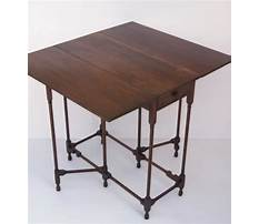 How to attach a gate leg table plans Video