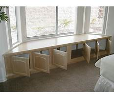 How to build a breakfast bench seat Video