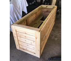 How to build a cedar planter box.aspx Video