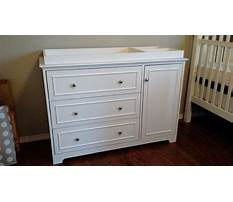 How to build a changing table dresser Video