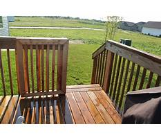 How to build a deck gate Video
