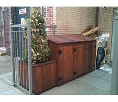 How to build a garbage can holder.aspx Video