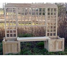 How to build a garden bench with a back.aspx Video