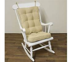How to build a nursery rocking chair Video