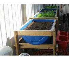 How to build a raised bed garden on a stand Video