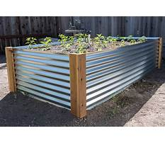How to build a raised bed garden with metal Video