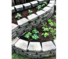 How to build a raised bed garden with pavers Video