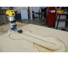 How to build a router jig Video