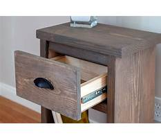 How to build a secret compartment nightstand Video