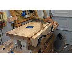 How to build a shop bench.aspx Video