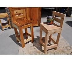 How to build a simple wooden bar stool Video
