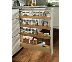 How to build a spice rack shelf Video