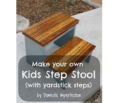 How to build a step stool for a child Video