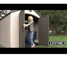 How to build a storage shed with porch.aspx Video