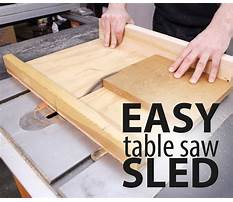 How to build a table saw Video