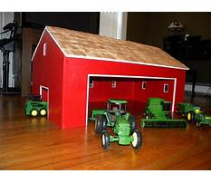 How to build a toy barn Video