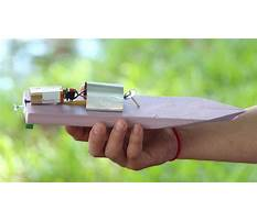 How to build a toy speed boat Video
