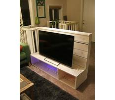 How to build a tv stand for flat screen Video