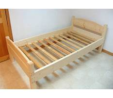 How to build a twin log bed Video