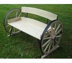How to build a wagon wheel bench Video