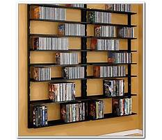 How to build a wall mounted dvd rack Video