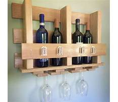 How to build a wine cabinet with wine glass rack Video