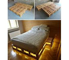 How to build a wood pallet bed Video