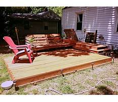 How to build a wood pallet deck Video
