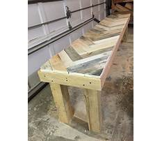 How to build a wood pallet workbench Video