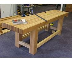 How to build a woodworkers workbench plans Video