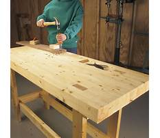 How to build a work table plans Video