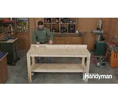 How to build a workbench video Video