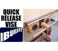 How to build a workbench vise Video
