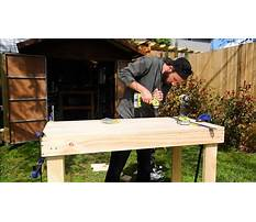 How to build a workbench youtube Video