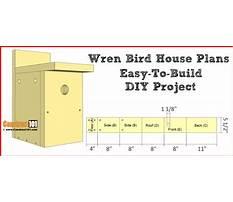 How to build a wren birdhouse plans Video