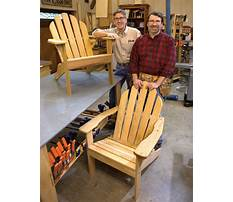 How to build an adirondack chair plans Video