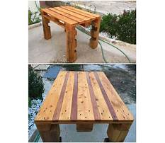 How to build an outdoor wood table Video